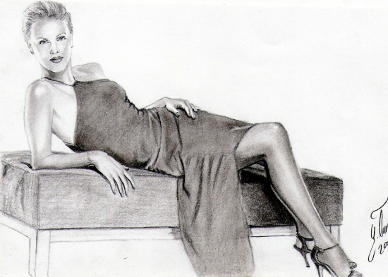 Charlize Theron by yenertan